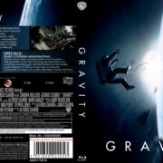 Gravity (2014) Blu-Ray German Cover