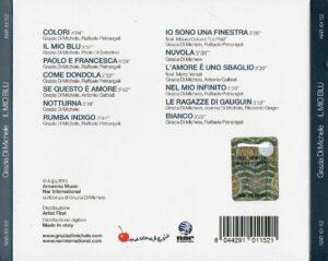 Grazia Di Michele - Il Mio Blu - Back