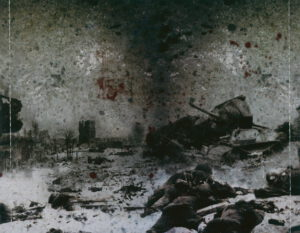 Hail Of Bullets - Of Frost And War (Russia) - Inlay
