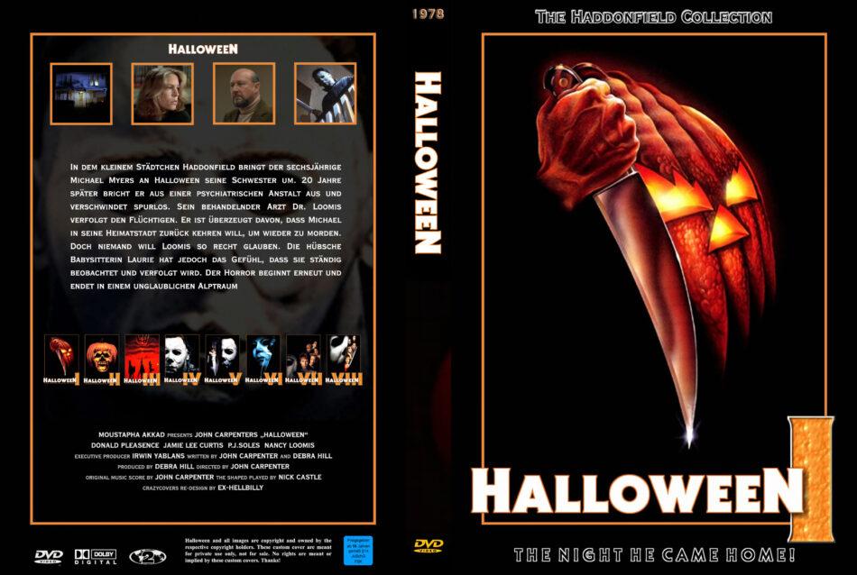 Halloween 1978 2020 Dvd Cover Halloween dvd cover (1978) R2 German