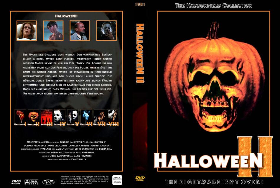 Halloween 2 Das Grauen Kehrt Zurück Dvd Cover 1981 R2 German