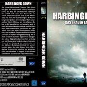 Harbinger Down (2015) R2 Custom Blu-Ray DVD Cover (german)