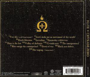 Hate - CrusadeZero - Back