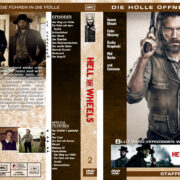 Hell on Wheels – Staffel 2 (2012) R2 german custom