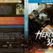 Hercules Blu-Ray 3D DVD Cover (2015) German