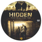 Hidden (2015) R0 Custom DVD Label