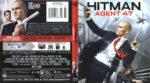 Hitman: Agent 47 (2015) R1 Blu-Ray DVD Cover