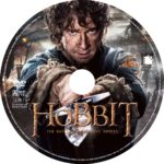 The Hobbit: Battle of the Five Armies (2014) DVD Custom Label