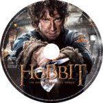 The Hobbit: Battle of the Five Armies (2014) DVD Custom Label