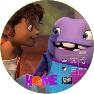 HOME dvd label