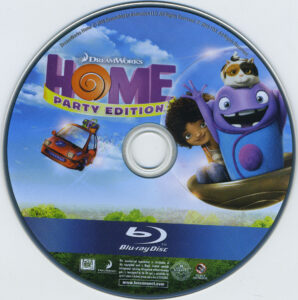 Home blu-ray dvd label