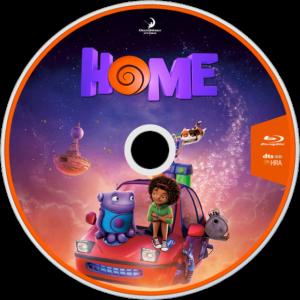 home blu-ray dvd label