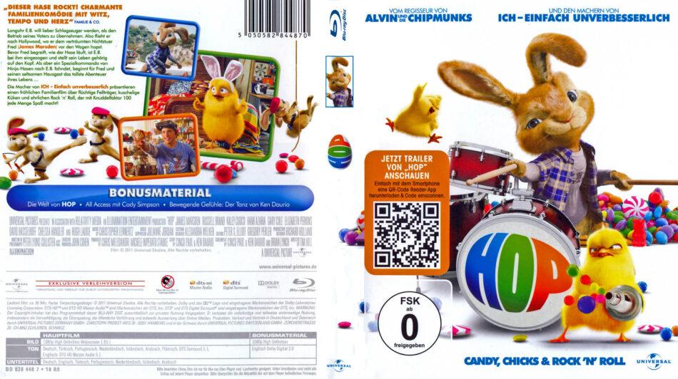 Hop Blu Ray Dvd Cover 2011 German