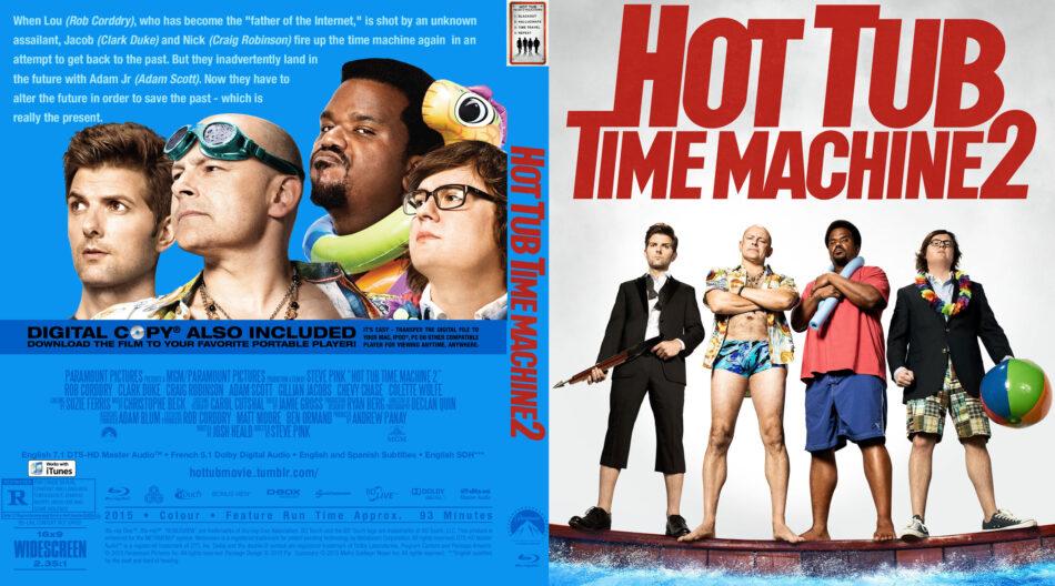 hot tub time machine 2 blu-ray dvd cover