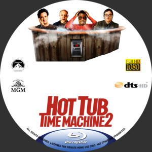 hot tub time machine 2 blu-ray dvd label