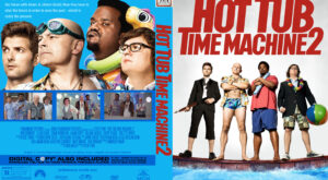Hot Tub Time Machine 2 Custom Cover
