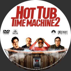 Hot Tub Time Machine 2 Custom label