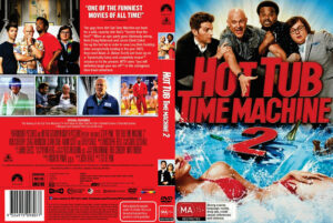 Hot Tub Time Machine 2 dvd cover