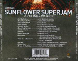 Ian Paice´s Sunflower Superjam - Live At The Royal Albert Hall 2012 - Back
