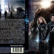 Fantastic 4 (2015) Custom Blu-Ray DVD Cover
