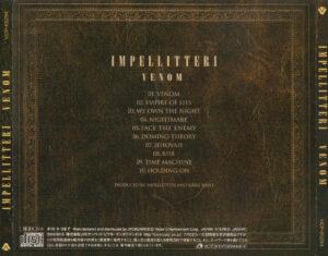 Impellitteri - Venom - Back