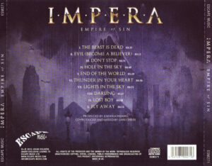 Impera - Empire Of Sin - Back