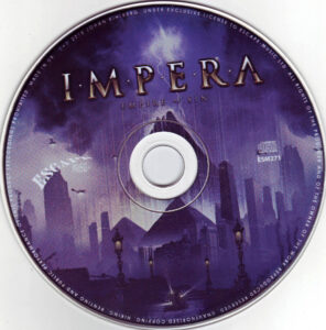Impera - Empire Of Sin - CD
