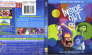 Inside Out 2D-3D (2015) Blu-Ray Cover & Label