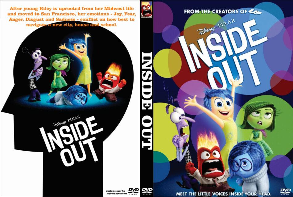 Inside Out Dvd Cover 2015 Custom Art