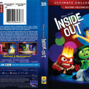 Inside Out (2015) R1 Blu-Ray 3D