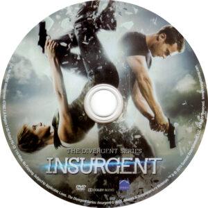 Insurgent dvd label