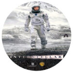 Interstellar (2014) R0 Custom DVD Label
