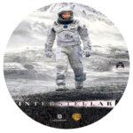 Interstellar (2014) R0 Custom DVD Label
