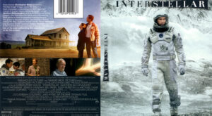 Interstellar front dvd cover