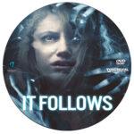 It Follows (2014) R0 Custom DVD Label