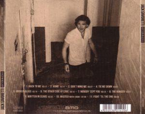 Jack Savoretti - Written In Scars - Back