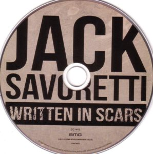 Jack Savoretti - Written In Scars - CD
