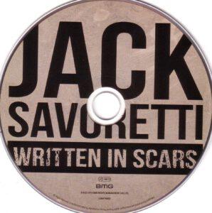 Jack Savoretti - Written In Scars - CD