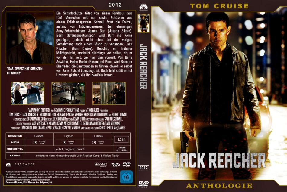 Jack Reacher Dvd Cover 2012 Custom German