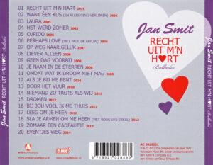 Jan Smit - Recht Uit M´n Hart - Back
