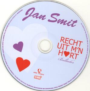 Jan Smit - Recht Uit M´n Hart - CD
