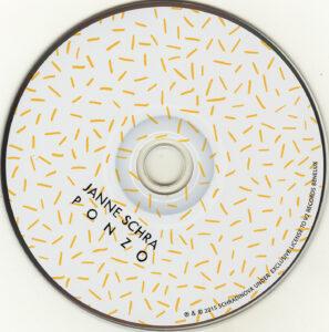 Janne Schra - Ponzo - CD