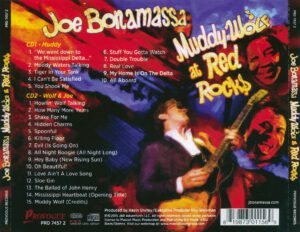 Joe Bonamassa - Muddy Wolf At Red Rocks - Back
