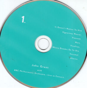 John Grant - John Grant And The BBC Philharmonic Orchestra  Live In Concert - CD (1-2)