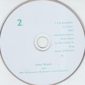 John Grant - John Grant And The BBC Philharmonic Orchestra  Live In Concert - CD (2-2)