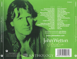 John Wetton - The Studio Recordings Anthology Vol.01 - Back