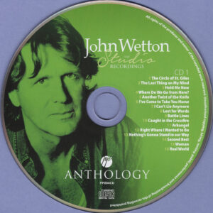 John Wetton - The Studio Recordings Anthology Vol.01 - CD (1-2)