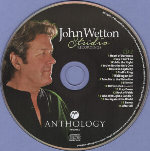 John Wetton - The Studio Recordings Anthology Vol.01 - CD (2-2)