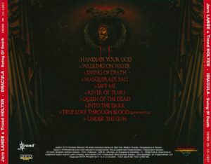 Jorn Lande & Trond Holter - Dracula - Swing Of Death (Russia) - Back