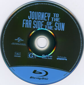 Journey to the Far Side of the Sun blu-ray dvd label